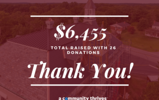 Thank You A Community Thrives Campaign 2021